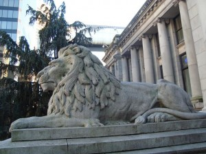 Court House Lion